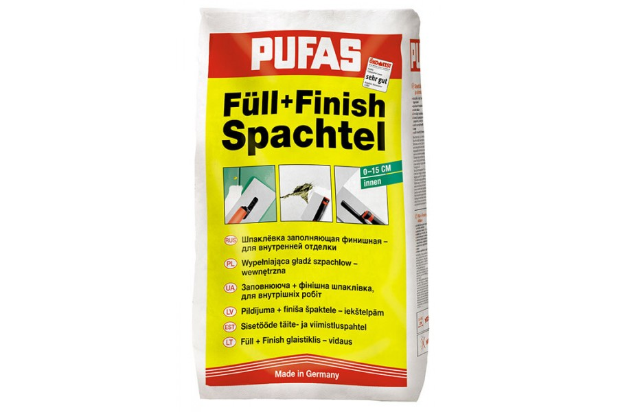 Шпаклевка Pufas Full Finish Spachtel