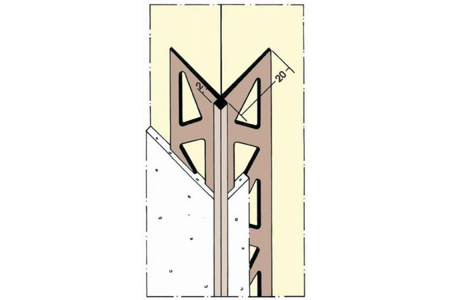 Угловой профиль для обоев Protector 3790